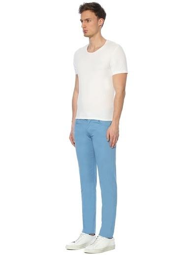 Marco Pescarolo Pantolon Mavi